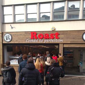 Roast our partner